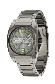 Police Men's PL-12897JSU/61M Interstate Grey IP Stainless Steel Bracelet Watch Police. $103.99. Red second hand with minute track; Date window; Water resistance up to 100 meters (330 feet); Grey textured dial; Grey ip coated stainless steel bracelet