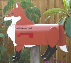 Fox mailbox