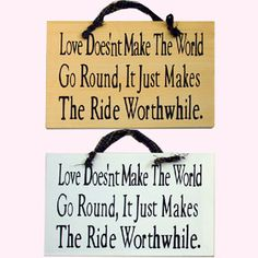 wood plaques with sayings | Item # 4614 - WOODEN PLAQUES SAYINGS ABOUT LOVE SIGNS 2 ASSORTED (11 ...