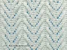 Lace Stitches for Spring 2016 - Pattern 10/10 - Knitting Unlimited