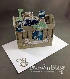 addINKtive designs: A 3D Baby Crib Card for SUO Challenges