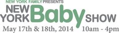 Visit the NY Family Baby Show on May 17th and 18th!