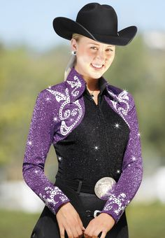 Would be beautiful on Libby. Love the color and sequin fabric.