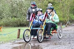 You Can Bike Too - All ability cycling project set up by people with disabilities for the community. Operating from Milton Country Park, group cycling sessions and adapted bike hire suitable for nervous cyclists, people with disabilities, older people, families riding together, people recovering from an injury or illness and even professionals who need to talk and think all in the beautiful backdrop of the country park.  http://www.youcanbiketoo.org/