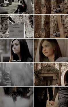 Tvd 1x01 and 8x16 Finale - After med school, I came home to Mystic Falls. It felt right. It's where I want to grow old. And that's my life. weird, messy, complicated, sad, wonderful, amazing and above all….. E P I C.