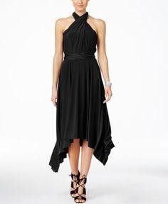 INC International Concepts Petite Handkerchief-Hem Wrap Dress, Only at Macy's   macys.com
