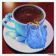 """Képtalálat a következőre: """"felíratos esti gif"""" Coffee Gif, Coffee Images, Coffee Love, Coffee Break, Good Morning Gift, Good Morning My Friend, Good Morning Coffee, Chocolate Puro, Hot Chocolate Mix"""