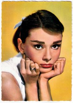 https://flic.kr/p/R82DcA | Audrey Hepburn | French postcard by E.D.U.G., no. 129.  Elegant, talented and funny Audrey Hepburn (1929-1993) was a Belgian-born, British-Dutch actress and humanitarian. After a start in the European cinema she became one of the most successful Hollywood stars of the 1950s and 1960s.  For more postcards, a bio and clips check out our blog European Film Star Postcards Already over 3 million views! Or follow us at Tumblr or Pinterest.