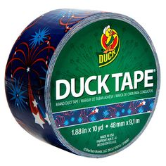Fireworks Duck Tape® Brand Duct Tape http://duckbrand.com/products/duck-tape?utm_campaign=color-duck-tape-general&utm_medium=social&utm_source=pinterest.com&utm_content=printed-duct-tape