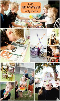 Fun Kids Halloween Party Activities and Ideas from KristenDuke.com