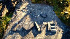 stone art of love 4k ultra hd wallpaper