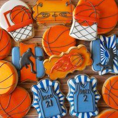 "266 Likes, 15 Comments - Sarah Robertson (@sugarcrushcookiessarah) on Instagram: ""Basketball cookies! Cuz basketball is life! #basketball #hoops #jerseys #sugarcookies…"""