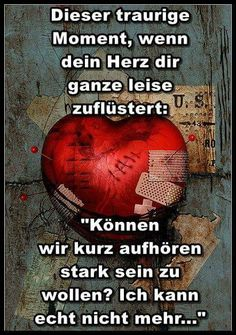 When your heart whispers - Trends Relationship Quotes Some Quotes, Words Quotes, Sayings, Whatever Forever, German Quotes, True Words, True Stories, Relationship Quotes, Decir No