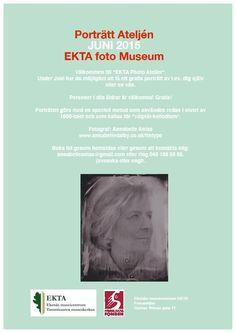 """I juni kan du ta chansen att uppdatera ditt körkort med en """"ny-gammal"""" bild tagen i muséets fotoateljé från 1940-talet. #EKTAMuseumcenter #fotoateljé #våtplåt #Ekenäs #Raseborg #Porträtt"""