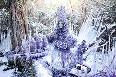 Kirsty Mitchell: The Thousand Empty Days Of A Frozen Heart, from the Wonderland series