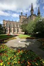 Chester Cathedral, now live on the outskirts of Chester City :-)) Beautiful and very historic!