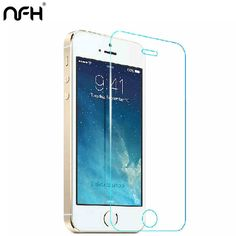 2.5d 0.3mm For iPhone 4s 5 5c Premium Tempered Glass Screen Protector for iPhone On 5c 5s SE 7 7 Plus Toughened protective film