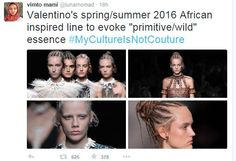 Who's the Black's braiding their hair?! That the first step in the direction of culture appropriation.