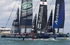 land rover bar wins america's cup world series portsmouth