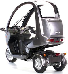 auto moto images - This is my newest toy-a 2012 Auto Moto 3 wheel scooter. Gets 80 mpg and will go a little over 50 mph. Gem Cars, Three Wheel Bicycle, Honda Metropolitan, Electric Trike, Microcar, Reverse Trike, Trike Motorcycle, Car Gadgets, Futuristic Cars