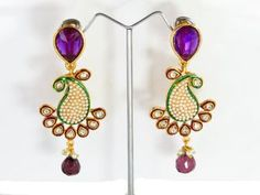 Online Shopping Indian Costume Fashion Earrings at our Wholesale Gallery with attractive discounts and offers.