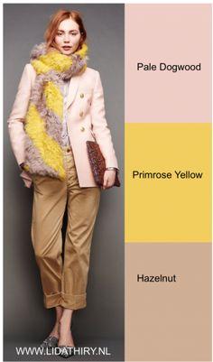 Hazelnut is de kleur van koffie met melk. Lees het blog hoe je deze kleur combineert. #hazelnut #pantonecolors2017 #trendkleuren2017