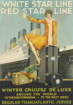 Full Details for Lot 49 vintage cruise poster. Make your own memories at Sunriver. http://village-properties.com, 1-800-SUNRIVER.