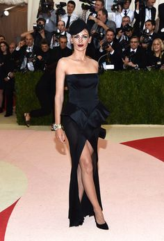 Liberty Ross in David Webb jewelry - The Metropolitan Museum of Art's COSTUME INSTITUTE Benefit Celebrating the Opening of Manus x Machina: Fashion in an Age of Technology, Arrivals, The Metropolitan Museum of Art, NYC, New York, America – 02 May 2016