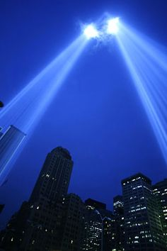 Ground Zero...never forget.  God Bless their souls and all their families and friends left behind...
