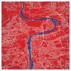 Prague, Czech Republic Print now featured on Fab.