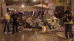 Während eines Stadtfestes: Schwere Explosion in Café in Südspanien