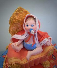 Фигурка малыша для торта