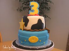 "Cakes by Becky: Toy Story ""3"" Cake"