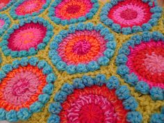 Development from a bobble square Bath Mat l've just made