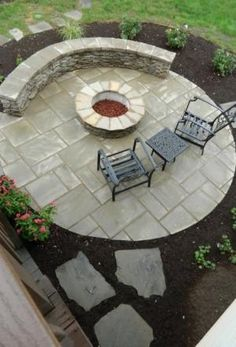 Patio under deck with separate firepit patio - Patios & Deck Designs - Decorating Ideas - HGTV Rate My Space by love_m