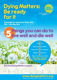 Our Awareness Week poster, with space for our supporters to advertise their own event, was launched at the event.
