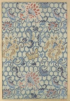 Piece  Date: 18th–19th century Culture: Japan Medium: Silk Dimensions: 10 x 6 3/4 in. (25.40 x 17.15 cm) Classification: Textiles-Woven
