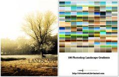 Landscape Ps Gradients by ElvenSword