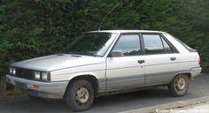 Renault 11 GTL 1983 Fiat 500, Child Hood, Car In The World, Car Ins, Vintage Cars, Automobile, Vans, Passion, Trucks