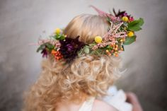 How to make a floral crown: A Very Pretty Tutorial
