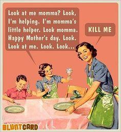 Died of laughter oh my gosh haha So mean lol Retro Humor, Vintage Humor, Funny Vintage, Retro Funny, Haha, Funny Quotes, Funny Memes, Mom Quotes, Quotes Pics