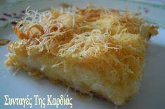 Η φίλη μου η Ντόρα, που είναι και νονά της κόρης μου, μας κέρασε για την γιορτή της (Θεοδώρα) αυτήν την υπέροχη κασερόπιτα.  Ήταν τέτοια η ν... Greek Cooking, Cooking Time, Cooking Recipes, Greek Recipes, Desert Recipes, Greek Pastries, Appetisers, Food For Thought, Food Inspiration