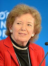 Casa L: Mary Robinson. El Calendario Cultural de Bautista....
