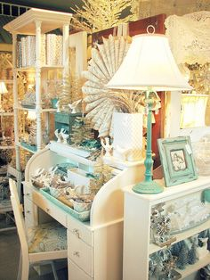 """Love the idea of a white roll top with the """"crystal"""" hardware. -- Trisha Brink Design ~"""