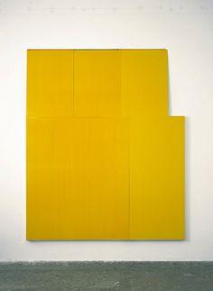 Knoe+170 Imi Knoebel, veramunro.com Imi Knoebel, Barnett Newman, Yellow Art, Plastic Sheets, Abstract Photography, Installation Art, Sculpture Art, Monochrome, Art Projects