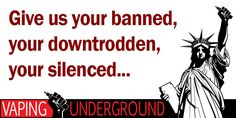 Vapor Joes - Daily Vaping Deals: GIVE US YOUR MISTREATED: JOIN US AT THE UNDERGROUN...