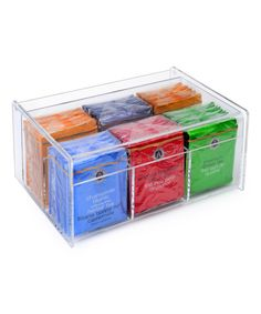 Look at this Home It Clear Tea Bag Case on #zulily today!