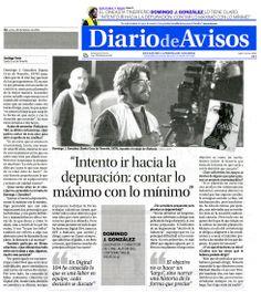 RIDÍCULA. Entrevista a Domingo J. González, director (y portada). Diario de Avisos. 28/02/2011