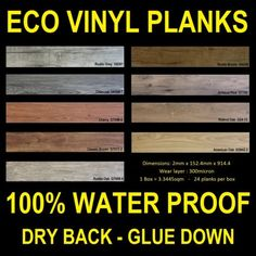 Eco Vinyl Flooring Vinyl Planks Floor Cheap Glue Down Special vinyl Tile  Plank
