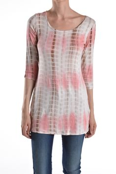 Find the cutest Tie-dye shirt to wear with your favorite jeans (both at J. Nicole)!